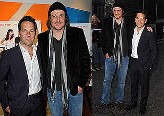 Photos of Paul Rudd and Jason Segel at the London Premiere of I Love You, Man