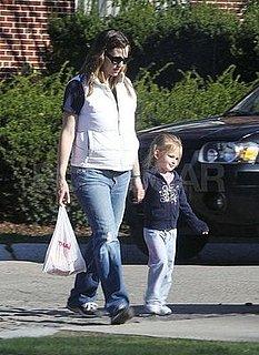 Photos of Jennifer Garner and Violet Affleck Shopping at Jacadi Paris in New York