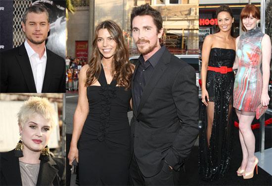 Photos of Christian Bale, Eric Dane, Kelly Osbourne at Terminator: Salvation Premiere in LA