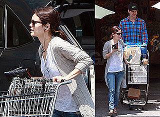Photos of Rachel Bilson had Hayden Christensen At a Grocery Store in LA
