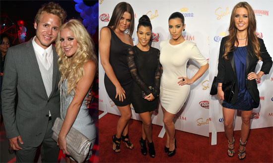 Hills Girls and Kardashians Celebrate on Maxim's Hot 100