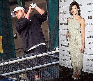 JT and Jessica Biel Doing Their Own Thing