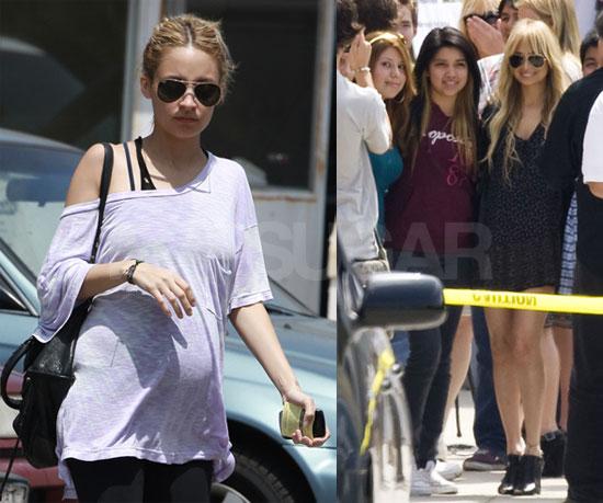 Photos of Pregnant Nicole Richie in LA