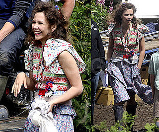 Photos of Maggie Gyllenhaal on the Set of Nanny McPhee and the Big Bang