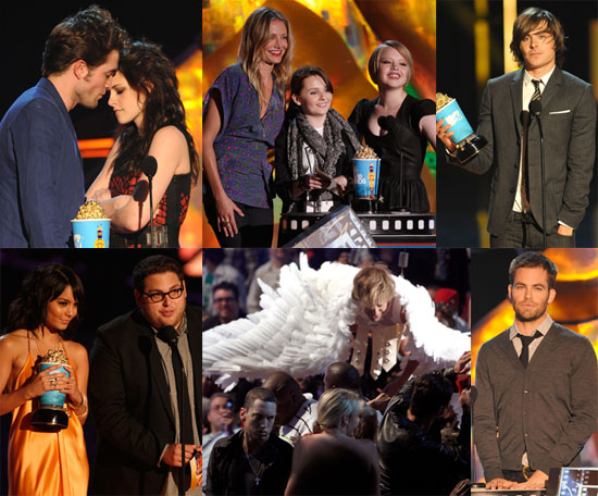 Photos of Robert Pattinson, Kristen Stewart, Andy Samberg at 2009 MTV Movie Awards