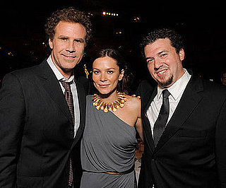 Photo of Will Ferrell, Anna Friel, and Danny McBride at the Land of the Lost Premiere