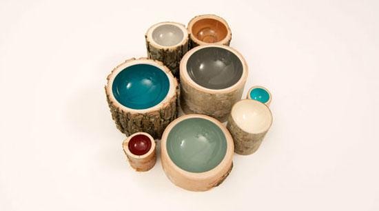 Alternative Use for Loyal Loot Collectives Handmade Log Bowls
