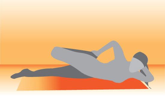 Stretch It: Lying Side Quad Stretch