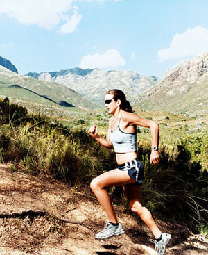 Running Tip: Maintain Your Posture on Uphills