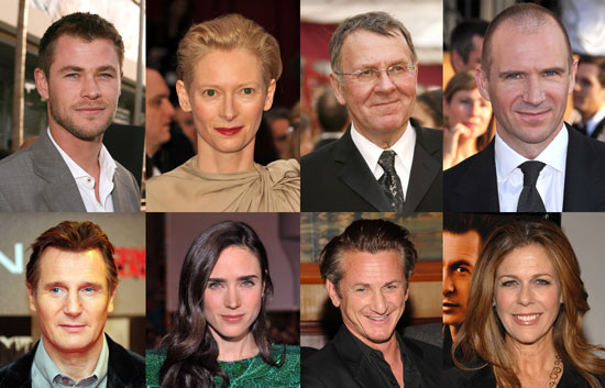"Movie News: Penn, Fiennes, Swinton, ""Thor,"" and More"