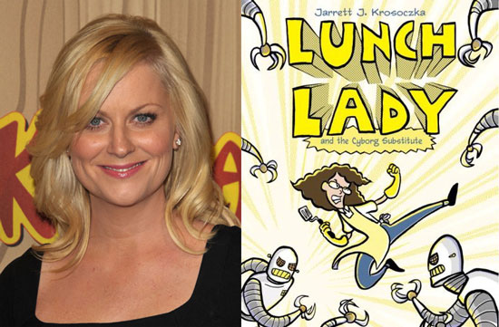 Amy Poehler Is a Mischievous Lunch Lady