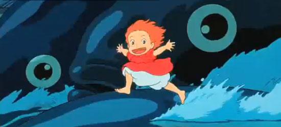 Hayao Miyazaki's Ponyo Looks Awesome and Adorable