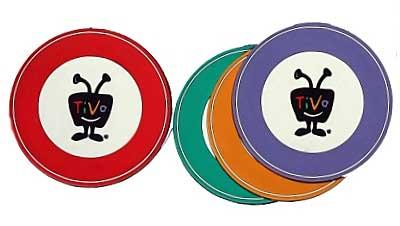 TiVo Coasters