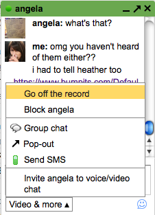 How to Go Off the Record and Set Gmail to Not Save Your Chats