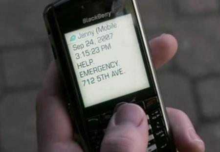 Jenny's BlackBerry Pearl