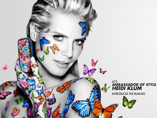 Daily Tech: Heidi Klum Is the New Face of LG's Rumor2