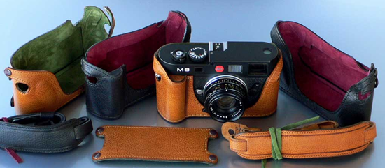 Custom-Made Leica Camera Cases