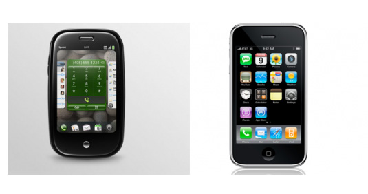 The Palm Pre Compared to the iPhone 3G