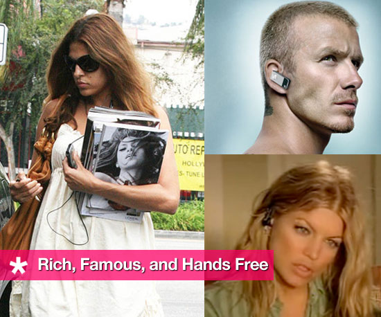 Photos Celebrities Using Hands Free Devices Like Bluetooth Earpieces