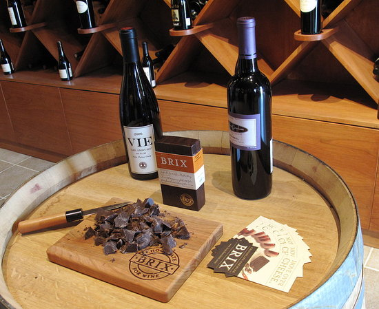 New Brix Chocolate Pairs Perfectly With Wine