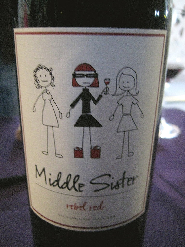 Middle Sister Rebel Red