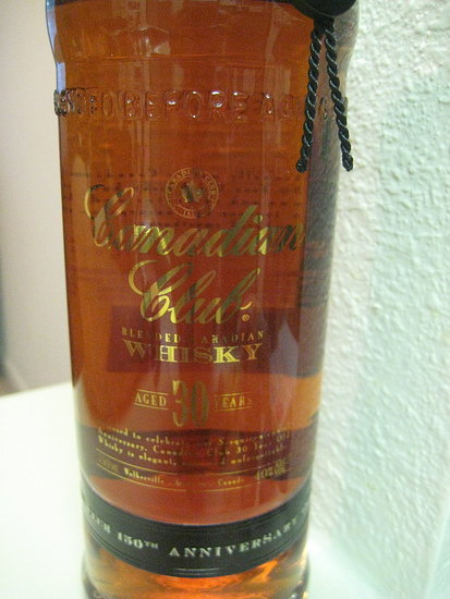 Happy Hour: Canadian Club 30-Year Reserve Whiskey