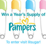Win a Year's Supply of Pampers!