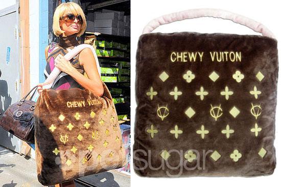 Found! Paris's Chewy Vuitton