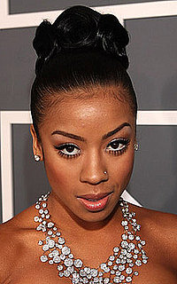 Keyshia Cole at the 2009 Grammys