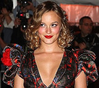 Leighton Meester's Hair and Makeup at the Met's Costume Institute Gala