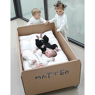 Customizable Cardboard Cot For Eco-Kids