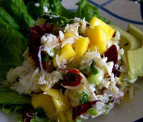 Healthy & Easy Crab Salad