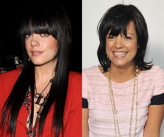 Which length do you like better on Lily Allen?