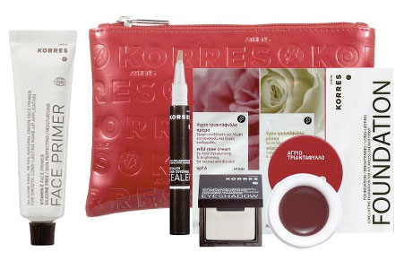 Saturday Giveaway! Korres Face Primer and Wild Rose Triple Benefits Color Collection