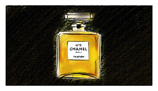 Audrey Tautou Hops the Night Train With Chanel