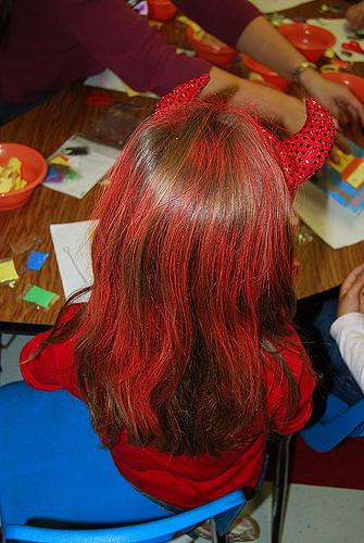 Temporary Hair Color