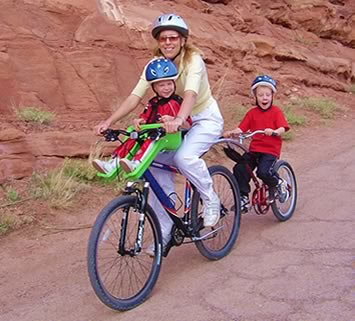 Biking with Baby:  iBert Safe-T-Seat