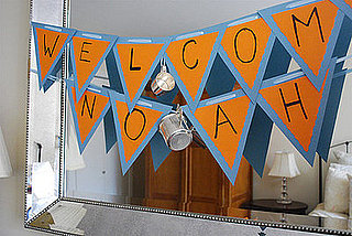 Sip and See Baby Shower: Decor
