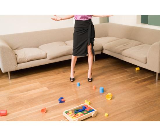 Floors that didn't...
