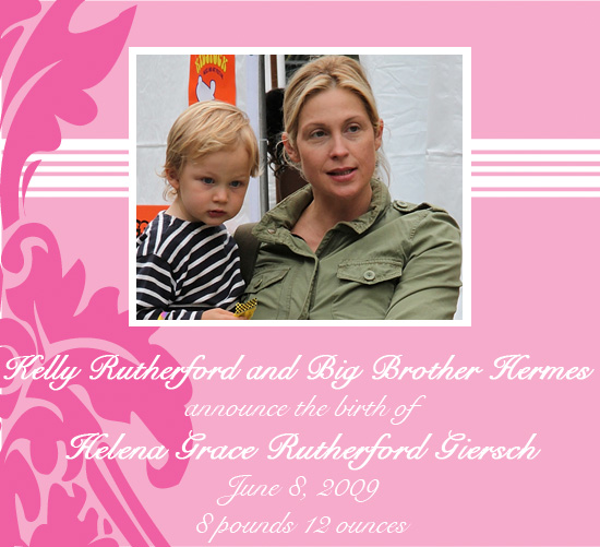 Kelly Rutherford Gives Birth to Baby Girl!