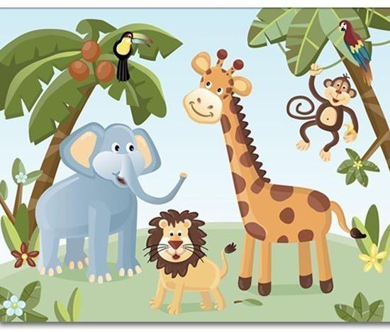 Jungle Safari Animals