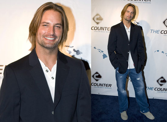 Photos of Josh Holloway Who is Interviewed in Loaded May 2009 Issue