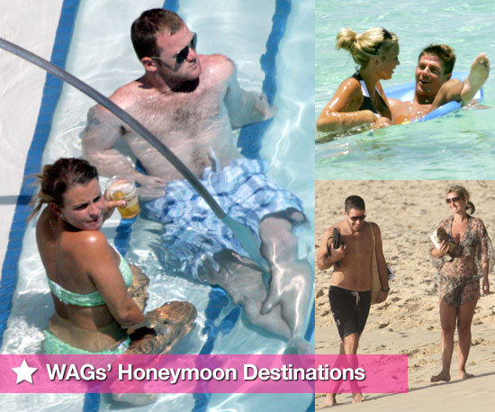 Photo Slideshow of Footballers and WAGs' Favourite Honeymoon Destinations Including Rooneys, Beckhams, Gerrards, Redknapps