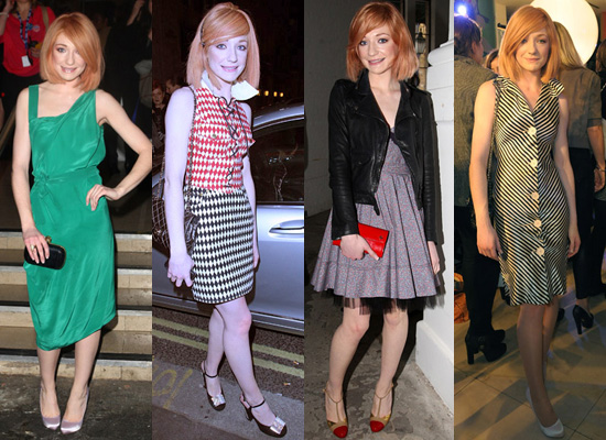 Nicola Roberts at London Fashion Week