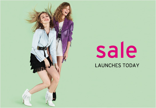 Topshop Sale Spring 2009