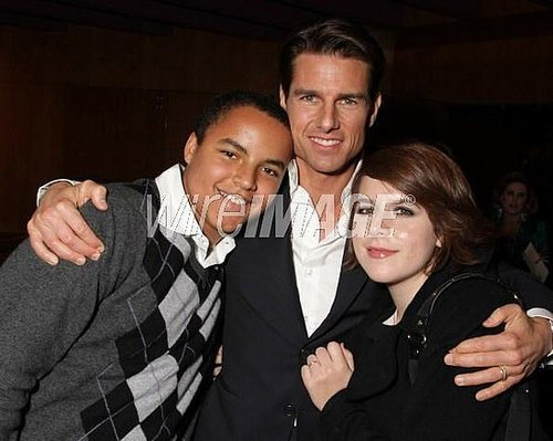 Isabella and Connor with Tom Cruise @ United Artists Pictures and MGM premiere of 'Valkyrie' on December 18, 2008