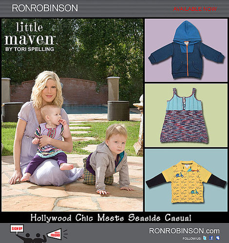 """Little Maven"" by Tori Spelling Now Available"