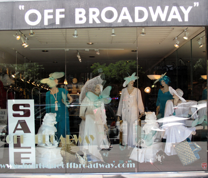 A Fabulous Window Display
