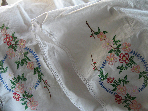 Do You Have Embroidered Pillowcases?