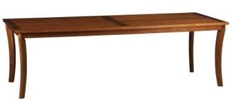 Good, Better, Best: Rectangular Wooden Outdoor Dining Tables